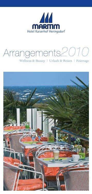 Arrangements2010 - Maritim Hotel Kaiserhof