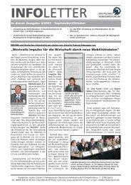 Infoletter 6/03 - Deutsches Verkehrsforum