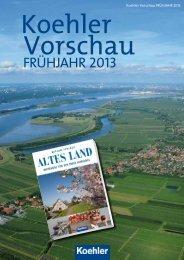 Unsere erfolgreichen Herbstnovitäten 2012 - Koehler/Mittler