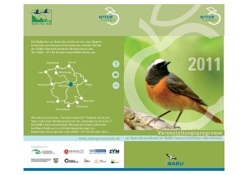 Veranstaltungsprogramm - NABU-Naturschutzstation Münsterland e.V.