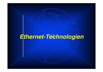 Ethernet-Repeater - Funktionalität Preambel-Erzeugung Durch die