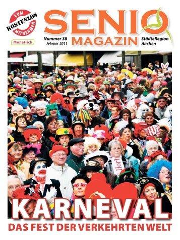 das Fest der verKehrten Welt - Senio Magazin