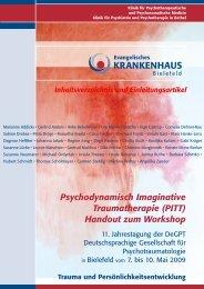 (PITT) Handout zum Workshop - Traum-Haus e.V.
