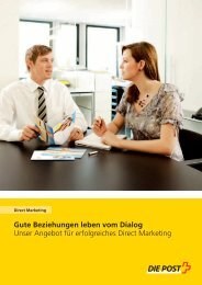 Direct Marketing - Die Schweizerische Post