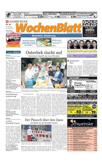 Bramfeld, Steilshoop - WBV Wochenblatt Verlag GmbH