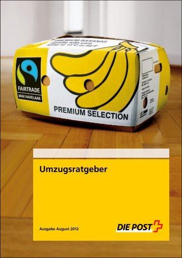 Umzugsratgeber - Die Schweizerische Post