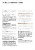 Umzugsratgeber - Die Schweizerische Post - Seite 5