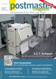 15 Jahre POSY - SET GmbH