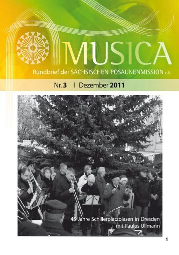 Nr. 3 I Dezember 2011 - Sächsische Posaunenmission eV