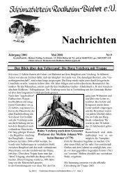Die Burg Vetzberg - Heimatverein-Rodheim-Bieber.de