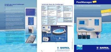 Prospekt Poolmanager 4 - Poolman GmbH