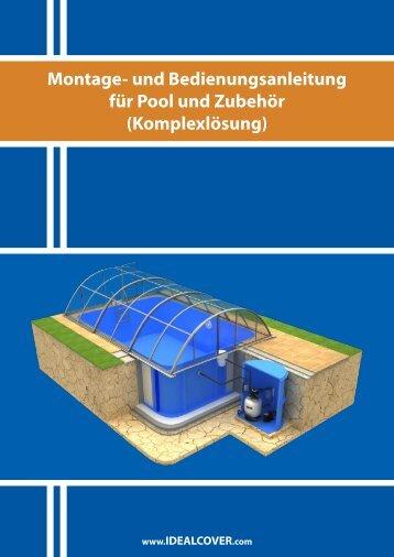 Montage- und Bedienungsanleitung für Pool und Zubehör ...