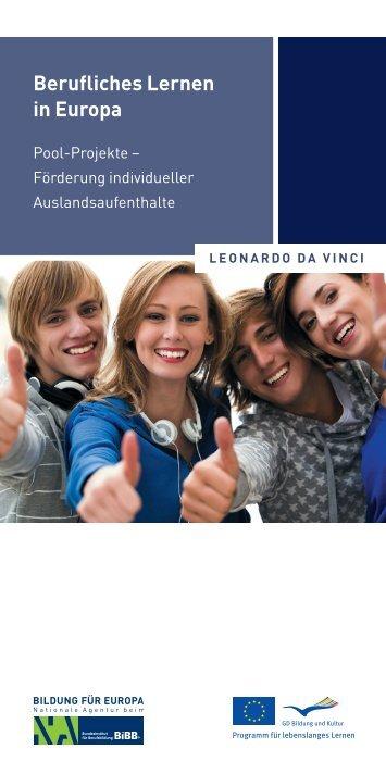 Berufliches Lernen in Europa - NA-BIBB
