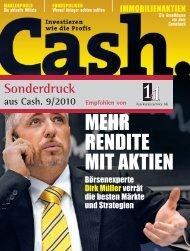 Sonderdruck aus Cash. 9/2010: Rundum-Paket-Pool - 1:1 ...