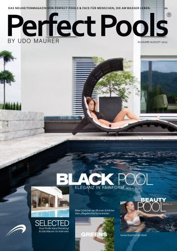 Fano magazine for Pool design graphic