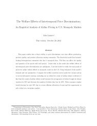 The Welfare Effects of Intertemporal Price Discrimination: