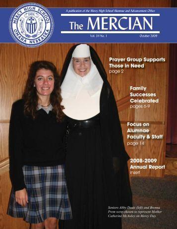 October 2009 Mercian - Mercy High School
