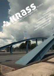 :>krass. Magazin der Grünen Jugend NRW. Ausgabe 01.2009