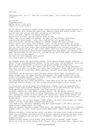 Der Plan Textauszug aus: Inci Y., Erstickt an euren Lügen – Eine ...