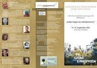 """Kulturimpuls Grundeinkommen!"" 14.–16. September 2012"