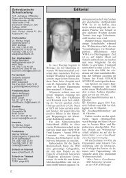 Editorial - Schweizer Schachbund