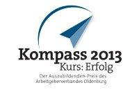 Kompass 2013 - Arbeitgeberverband Oldenburg