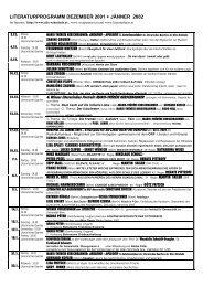 Jänner 2002 - Alte Schmiede