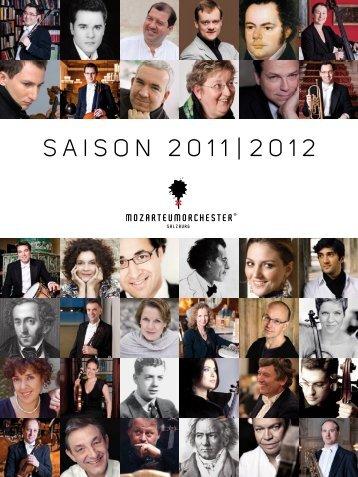 SAISON 2011|2012 - Mozarteum Orchester Salzburg