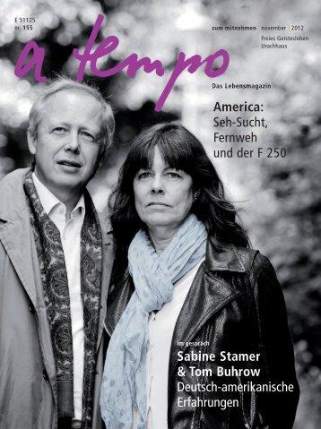 November 2012 - A Tempo