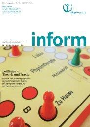 Leitlinien – Theorie und Praxis - Physio Austria