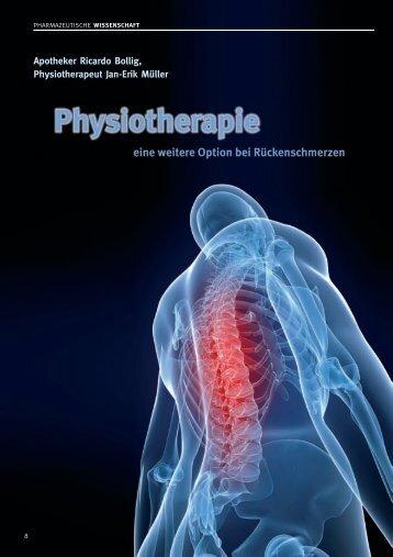 Apotheker Ricardo Bollig, Physiotherapeut Jan-Erik Müller