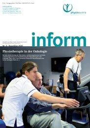 Physiotherapie in der Onkologie - Physio Austria