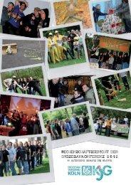 Rechenschaftsbericht der diozesankonferenz 2 0 1 2 : - KjG ...