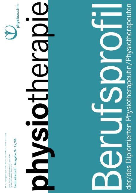 Berufsprofil Physiotherapie - Physio Austria