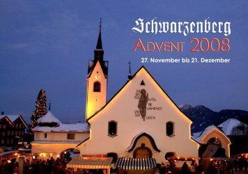 Adventprogramm 2008 - bregenzerwald-news.at