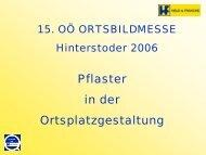 Held & Francke Pflasterungen Ortsbildmesse ... - RiSKommunal