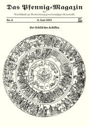 Das Pfennig-Magazin – No. 6 (Ausgabe vom 8. Juni 1833) - Igelity