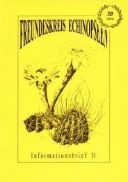 freundeskreis echinopseen - Bibliothèque numérique d'ouvrages ...