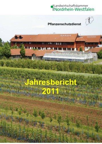 Jahresbericht 2011 - Landwirtschaftskammer Nordrhein-Westfalen