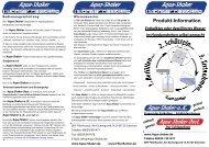 Download Flyer - Aqua-Shaker