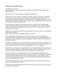 Erfahrungen zu kolloidalem Platin Anwendungszeit: 14 ... - Pulsar