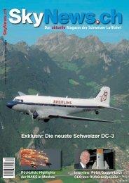 Exklusiv: Die neuste Schweizer DC-3 - SkyNews.ch