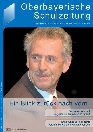 Oberbayerische Schulzeitung - BLLV