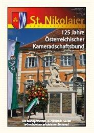 Zeitung Sommer 2008 - Marktgemeinde St. Nikolai im Sausal
