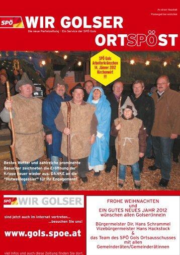Gernot Zechmeister: Ein toller Golser Jungunternehmer! - SPÖ Gols