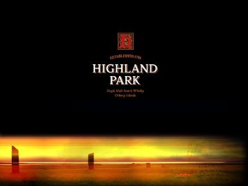 2011 Geschichten ausgewählter Destillerien (Highland ... - cotwezh.ch