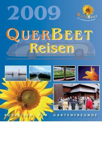 9. Mai 2009 - QuerBeet reisen
