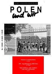 0 polen und wir - 2009-1.qxp - Deutsch-Polnische Gesellschaft der ...