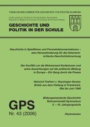 GPS - Verband der Lehrer für Politik und Geschichte, Hamburg