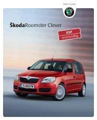 ŠkodaRoomster Clever - Skoda